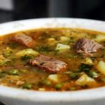 Sopa de Carne à Moda dos Açores